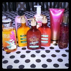 Lot of body products